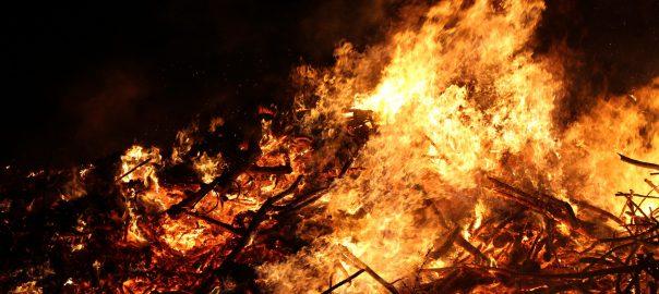 Sammelaktion fürs Osterfeuer