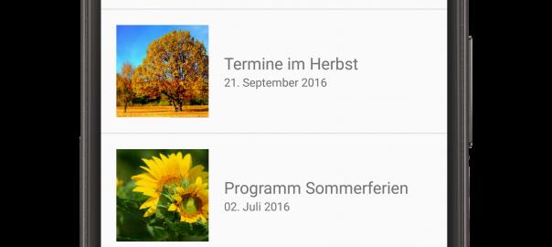 Erste Updates für unsere App
